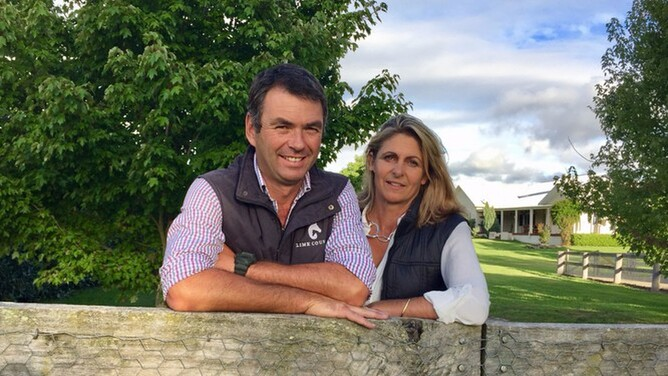 Lime Country Thoroughbred's Greg and Jo Griffin